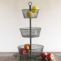 FARMER'S MARKET EPERGNE        -                Accessories        -                Tabletop        -                Furniture & Decor                    | Robert Redford's Sundance Catalog