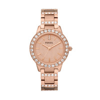 FOSSIL® Watch Styles Rose Watches:Women Jesse Stainless Steel Watch - Rose ES3020