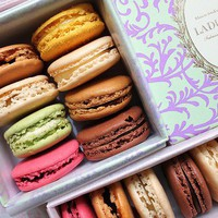 The best macarons from Ladur?e in Paris