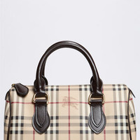 Burberry &#x27;Haymarket Check&#x27; Satchel | Nordstrom