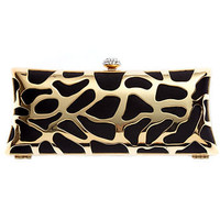 Sasha Handbag, Metal Frame Minaudiere Evening Clutch - Clutches & Evening Bags - Handbags & Accessories - Macy's