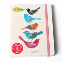 avian friends pocket planner - $13.99 : ShopRuche.com, Vintage Inspired Clothing, Affordable Clothes, Eco friendly Fashion