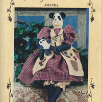 Panda Doll Pattern: Amanda by Fruitfull Hands