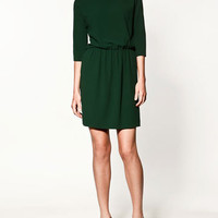 DRESS WITH SPLIT SLEEVES - Collection - Dresses - Collection - Woman - ZARA United States