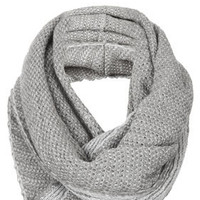 2 Tone Zigzag Snood - Scarves  - Accessories