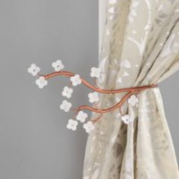 UrbanOutfitters.com &gt; Cherry Blossom Curtain Tie-Back