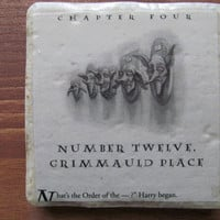 Harry Potter Number Twelve Grimmauld Place Coaster