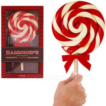 HAMMOND'S ORIGINAL GIANT PEPPERMINT LOLLIPOP