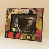 5x7 Photo Frame Floral Watercolors