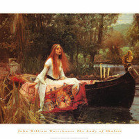 The Lady of Shalott, 1888 Print by John William Waterhouse at Art.com
