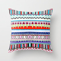 VIVID HUYANA Throw Pillow by Vasare Nar | Society6