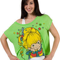 Rainbow Brite Cropped Shirt