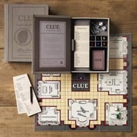 Vintage Bookshelf Clue | Clue | Restoration Hardware