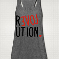 Love Revolution Tank Top - Free Shipping