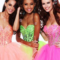 Sherri Hill Short Dress21101 at Prom Dress Shop