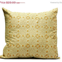 BLACK FRIDAY SALE 30% off Cream Lace Cushion cover  - 18x18 pillow cover, envelope cover, throw pillow cover