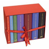 Harry Potter Hardcover Box Set (Books 1-7) (Deluxe Edition) [Box set] [Hardcover]