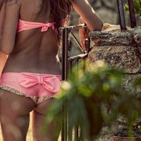 Lollipop swimwear (pink) from Madame Shou Shou