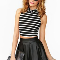 Jailbait Crop Turtleneck