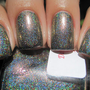 Space Beetle Nail Polish (Linear Holographic/duochrome)