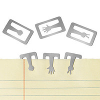 ROCK PAPER SCISSORS MARKING CLIPS | Office Supplies, Organizer, Paper Accessories, Desktop, Creatively Designed Office Tools | UncommonGoods
