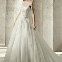 Graceful Bride Cute Long Wedding Dresses : Wholesaleclothing4u.com