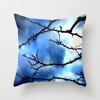 Storm Warning Throw Pillow by Shawn Terry King | Society6