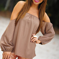 Happily Ever After Top: Mocha | Hope's