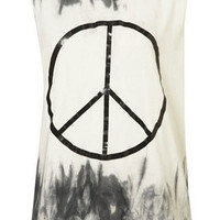 Tye Dye Peace Tank