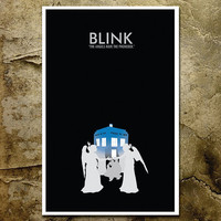 Doctor Who Poster Blink 11x17 Poster by ModernStylographer