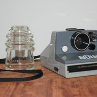 Vintage The Button Land Polaroid Instant Camera
