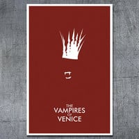 Doctor Who Art Poster The Vampires of Venice by ModernStylographer