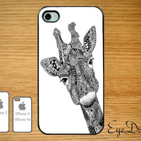 Giraffe IPhone 5 Case, IPhone 4s Case, IPhone 4 Case