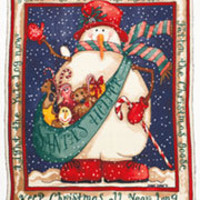 Snowman Fleece Throws|ABC Distributing