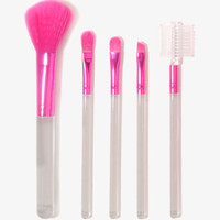 Cosmetic Brush & Case Set