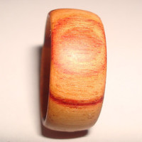Wood Ring Wide Tulipwood - Shipping Included