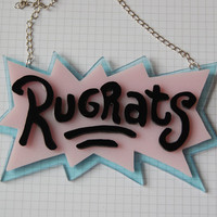 Huge Rugrats necklace