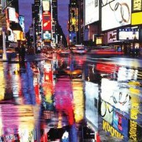 Amazon.com: Times Square-New York City-Color, Photography Poster Print, 24 by 36-Inch: Home & Kitchen