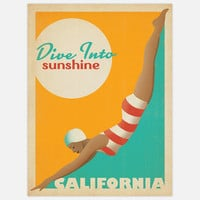 Anderson Design Group: Dive Into Sunshine 18x24, at 26% off!