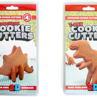 3D Dinosaur Cookie Cutters : Bake your own 3D Dinosaur