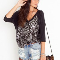 Animal Instinct Top - NASTY GAL