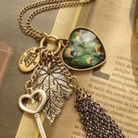 Japan Fashion Retro Style Magical Necklace: tidestore.com