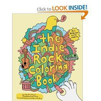 Amazon.com: Indie Rock Coloring Book (9780811870948): Yellow Bird Project, Andy J. Miller, Pierre de Reeder: Books