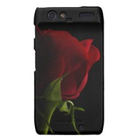 Red Rose Motorola Droid RAZR Case from Zazzle.com