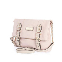 Light pink cross body satchel