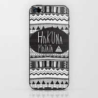 HAKUNA MATATA  iPhone &amp; iPod Skin by Vasare Nar | Society6