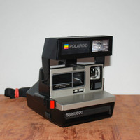 Vintage Spirit 600 LMS Polaroid Instant Camera 600 Film 1970s Working Condition Guaranteed