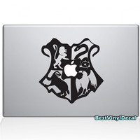 Hogwarts crest Apple macbook pro decals skins by BestVinylDecal