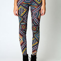 Ria All Over Aztec Leggings