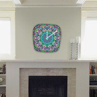 DENY Designs Home Accessories | Lisa Argyropoulos Inspire Oceana Modern Clock